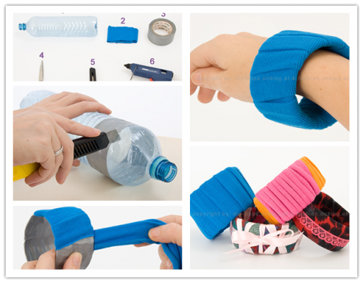 How To Make Beautiful DIY Bracelets From Recycled Plastic Water Bottles