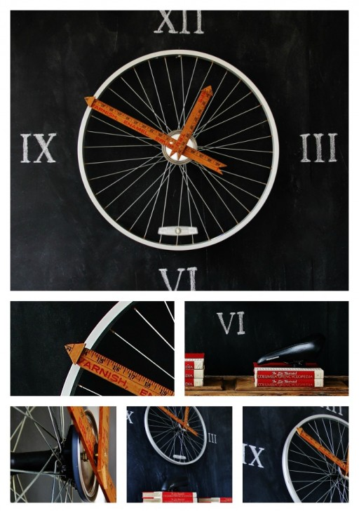 How To Make Bicycle Wheel Clock DIY Tutorial 2