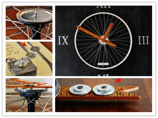 How To Make Bicycle Wheel Clock DIY Tutorial