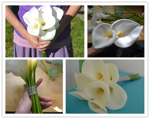 How To Make Calla Lily Bouquet