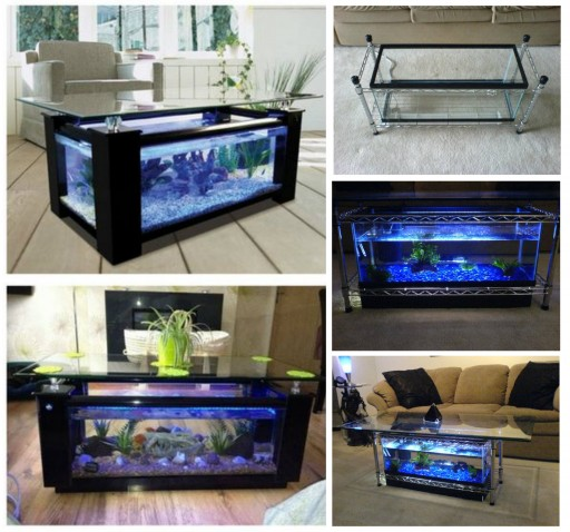 How To Make DIY Aquarium Coffee Table