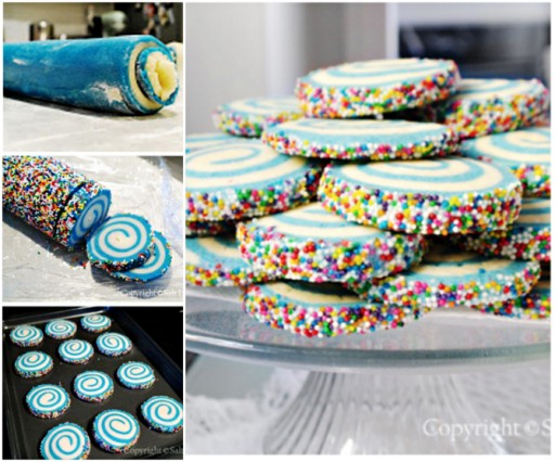 How To Make DIY Swirled Sugar Cookies