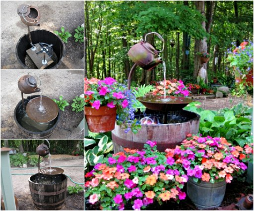 How To Make DIY Teapot Fountain