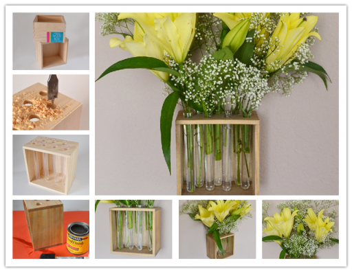How To Make DIY Test Tube Vase