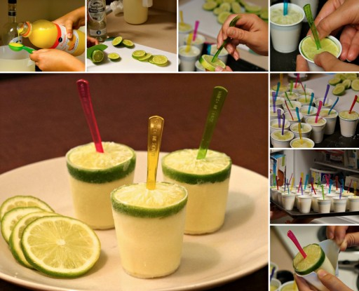 How To Make Margarita Pops
