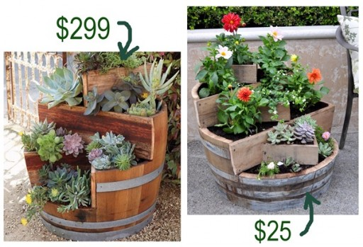 Make This DIY Recycled Wine Barrel Planter And Save $274 2