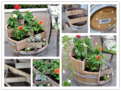 Make This DIY Recycled Wine Barrel Planter And Save $274