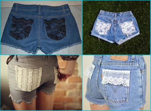 Smart Ways To Renew Old Jean Shorts 1