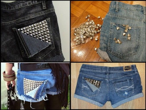 Smart Ways To Renew Old Jean Shorts 2
