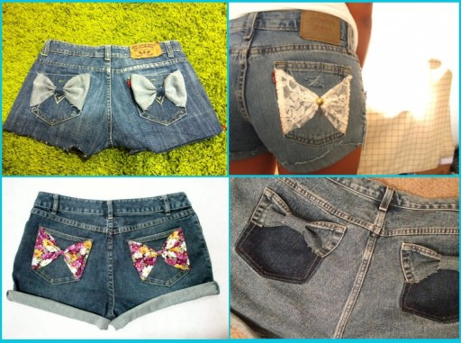 Smart Ways To Renew Old Jean Shorts 3