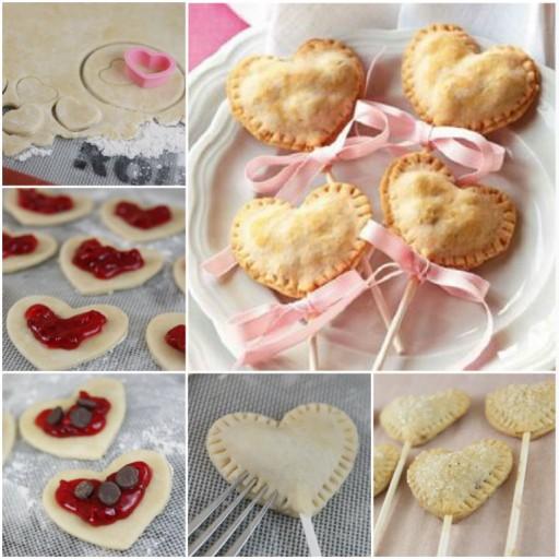 Sweetie Heart Pie Pops Recipe