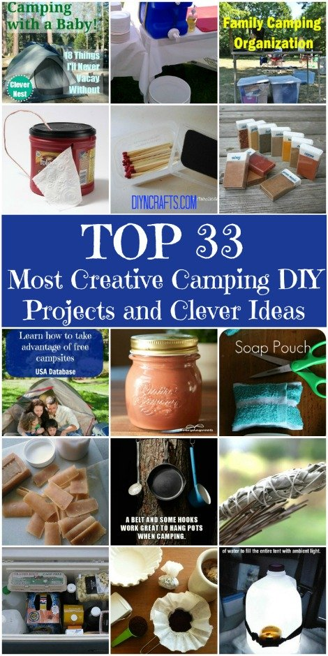 Top 33 Most Creative DIY Camping Projects And Ideas 2
