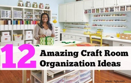 12 Amazing Craft Room Organization Ideas & Tips