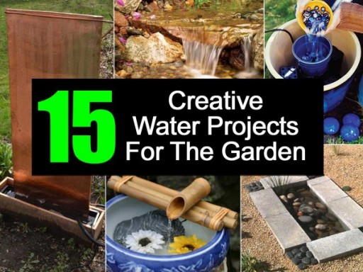 15 Creative Water Projects For Your Garden