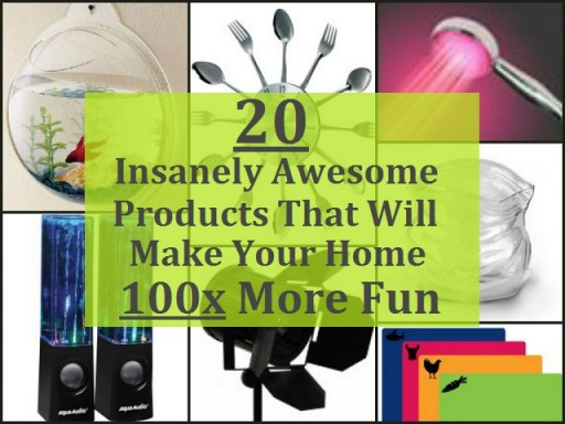 20 Insanely Awesome Products To Make Your Home More Fun