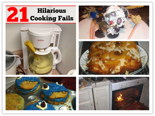 21 Hilarious Cooking Fails