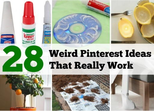 28 Weird Pinterest Ideas That Actually Work