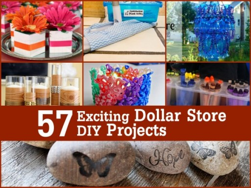57 Exciting Dollar Store DIY Projects To Try