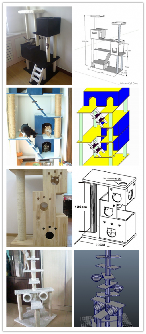 6 Free DIY Cat Tree Plans 2
