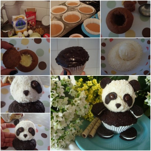 Adorable DIY Oreo Panda Cupcake Recipe & Instructions