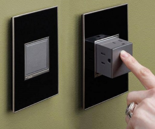 Creative Pop-out Outlet Design