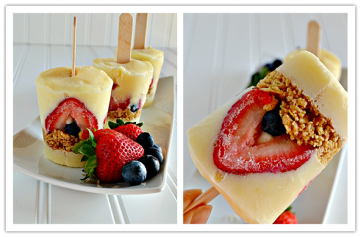 DIY Cheesecake Popsicle Recipe
