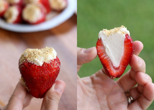 DIY Cheesecake Stuffed Strawberries Recipe