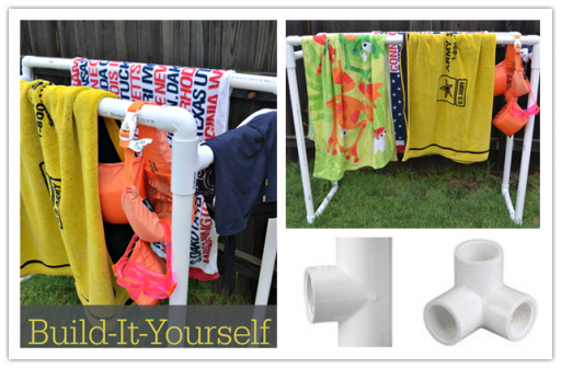 DIY How To Build A PVC Clothes Drying Rack