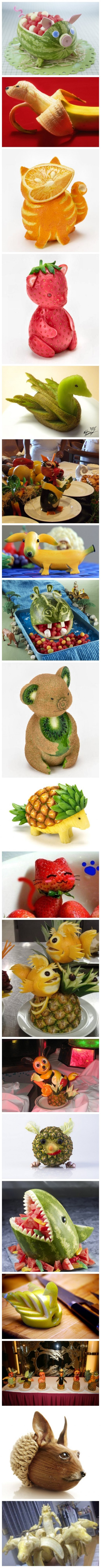 Fruit Carving Fun - When Creativity Meets Fruits 3