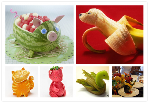 Fruit Carving Fun - When Creativity Meets Fruits