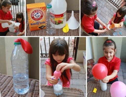 Fun Way To Blow Up Balloons & Teach Children Science