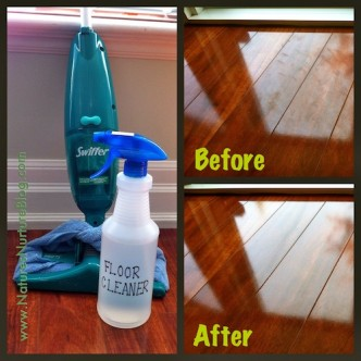 Homemade All Purpose Floor Cleaner Recipe