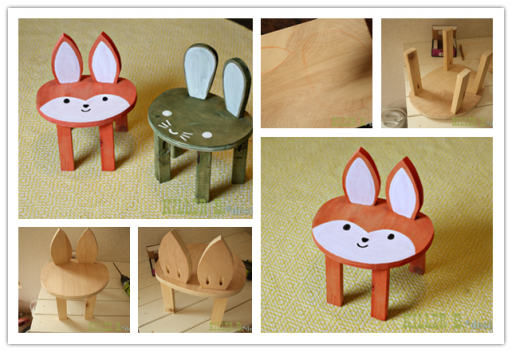 How To Make Cute DIY Toddler Stools