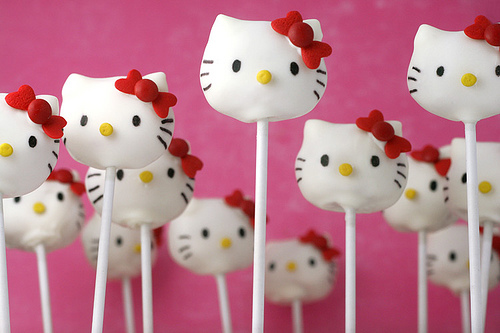 How To Make DIY Hello Kitty Cake Pops Tutorial
