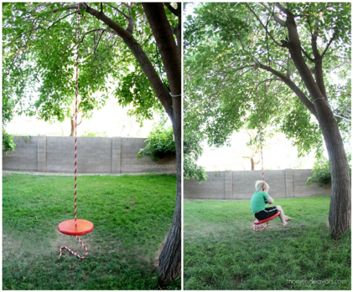 How To Make Simple DIY Tree Swing