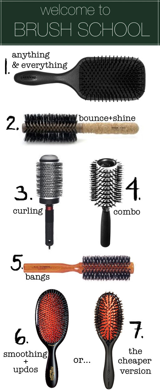 How To Use Hair Brushes