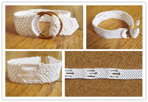 Lovely DIY Cotton Bracelet Tutorial 3