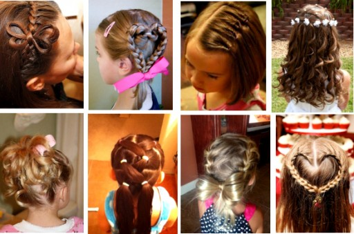 Lovely Little Girl Hairstyles