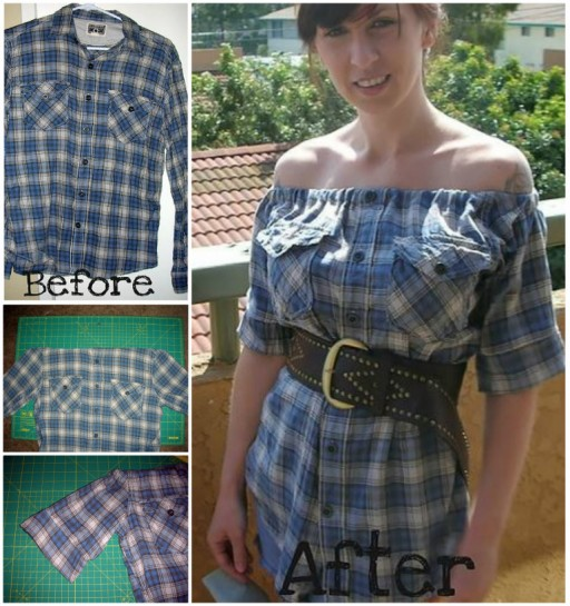 Re-purpose That Old Flannel Into A New DIY Shirt