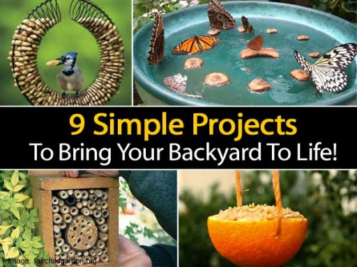 Simple DIY Projects To Bring Your Backyard To Life