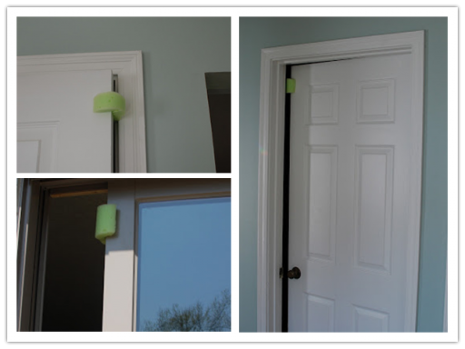 Simple Door Stopper With Recycled Pool Noodle