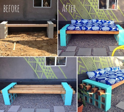 Simple Yet Nice DIY Outdoor Seating 2
