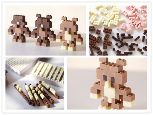 These Cute Chocolate Legos Are Going To Melt You