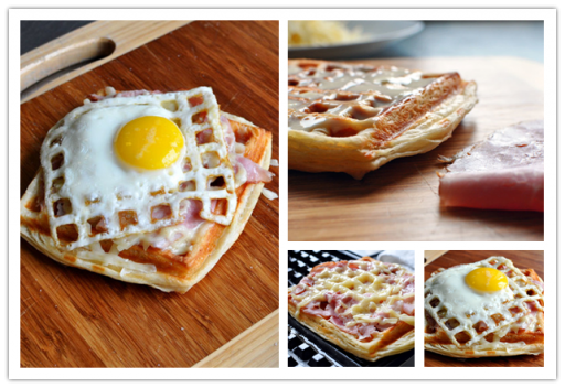 Your Waffle Iron Is Not Only Good For Waffles, But Also Good For This Open-Face Sandwich