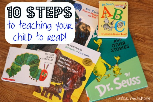 10 Steps To Teach Your Child To Read At Home
