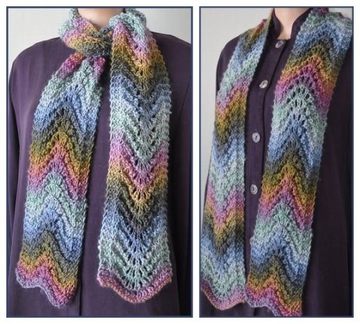 10 Stylish Free Knitting Scarf Patterns 6