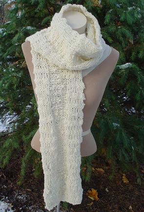10 Stylish Free Knitting Scarf Patterns 7