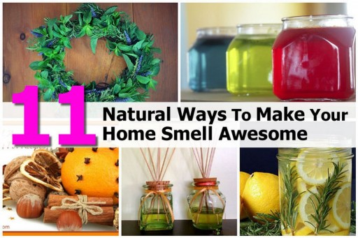 11 Natural Ways To Make Your Home Smells Fresh And Clean