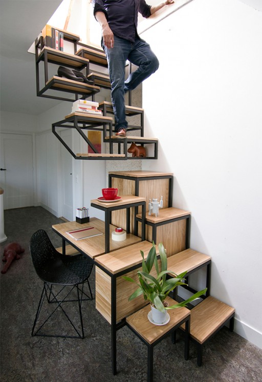 31 Super Cool Staircases That Changes Your View Of Stairs 9