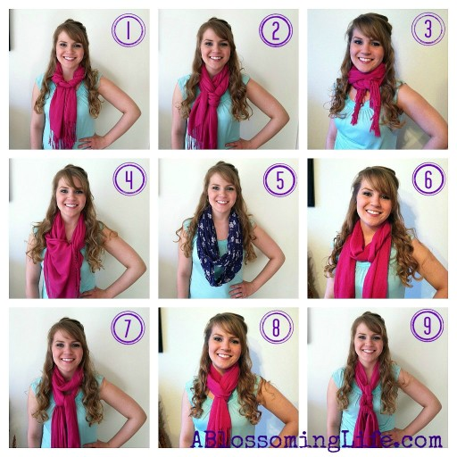9 Ways To Wear A Scarf